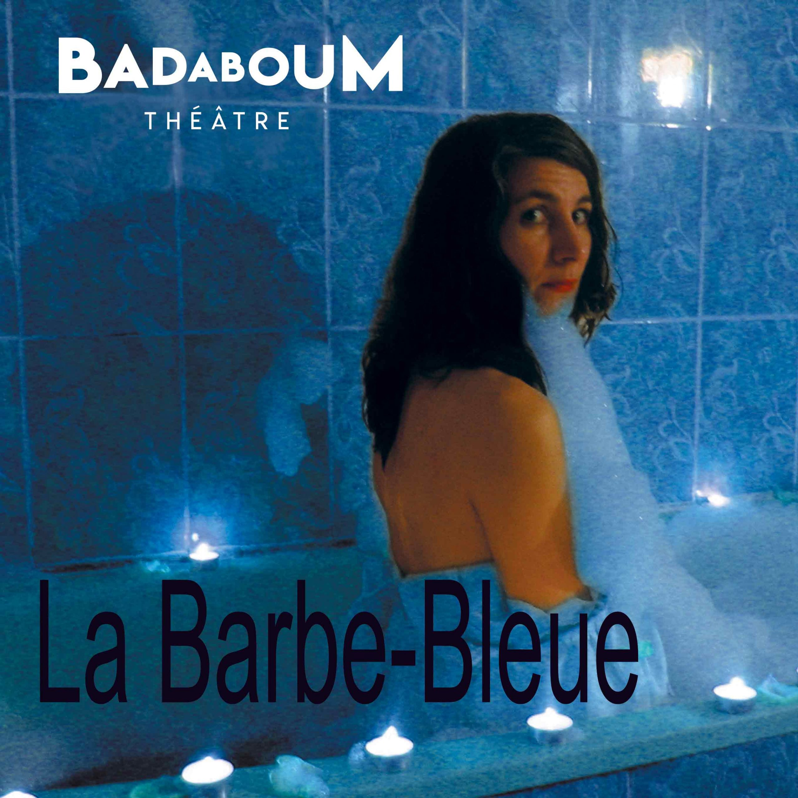 Affiche barbe bleue spectacle enfant badaboum theatre scaled