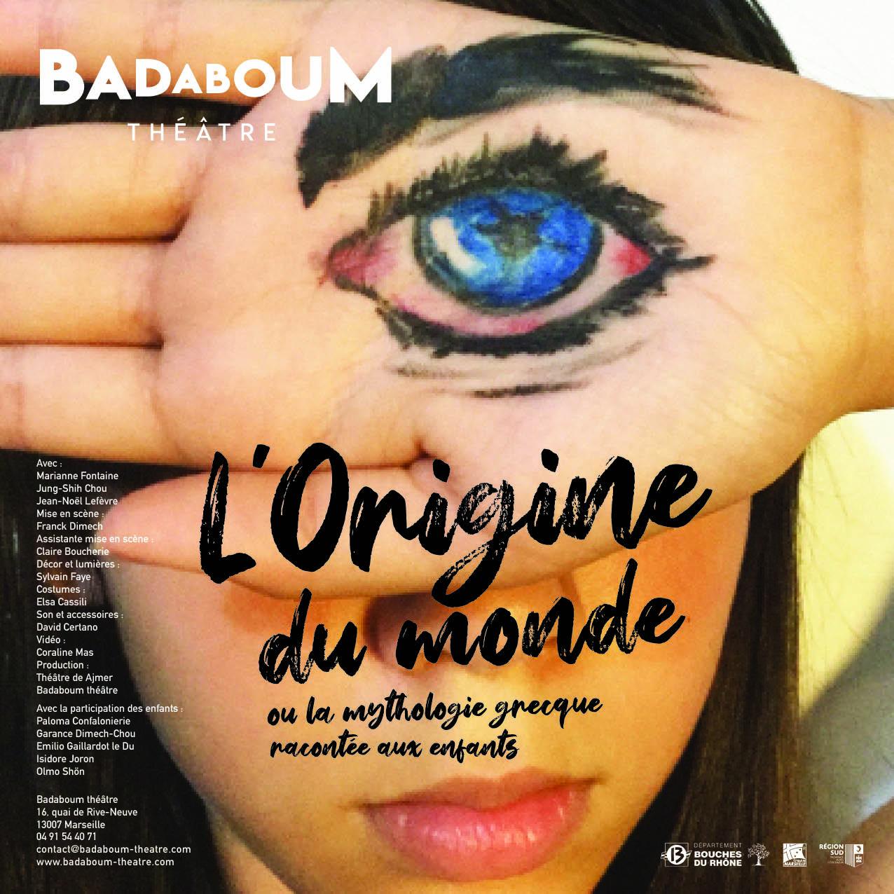 affiche l origine du monde spectacle enfant badaboum theatre marseille