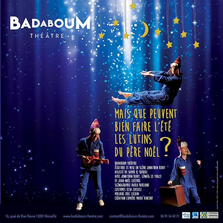 affiche lutins spectacle enfant badaboum theatre